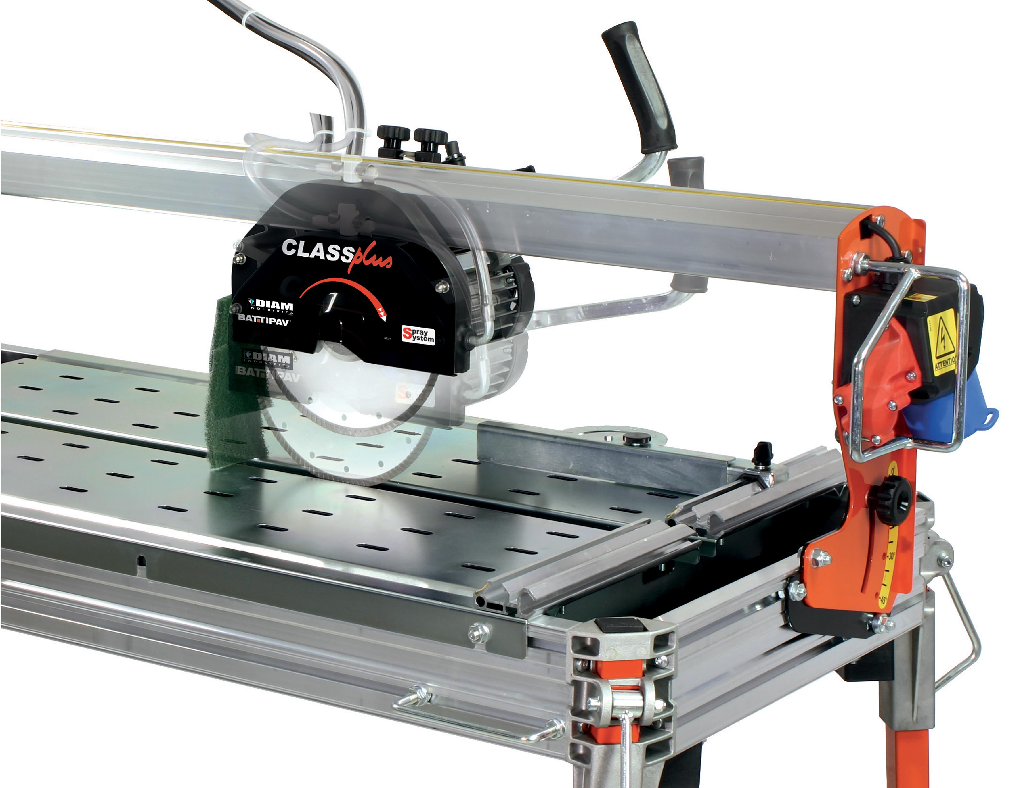 Scie sur table CLASSPLUS - profondeur de coupe réglable