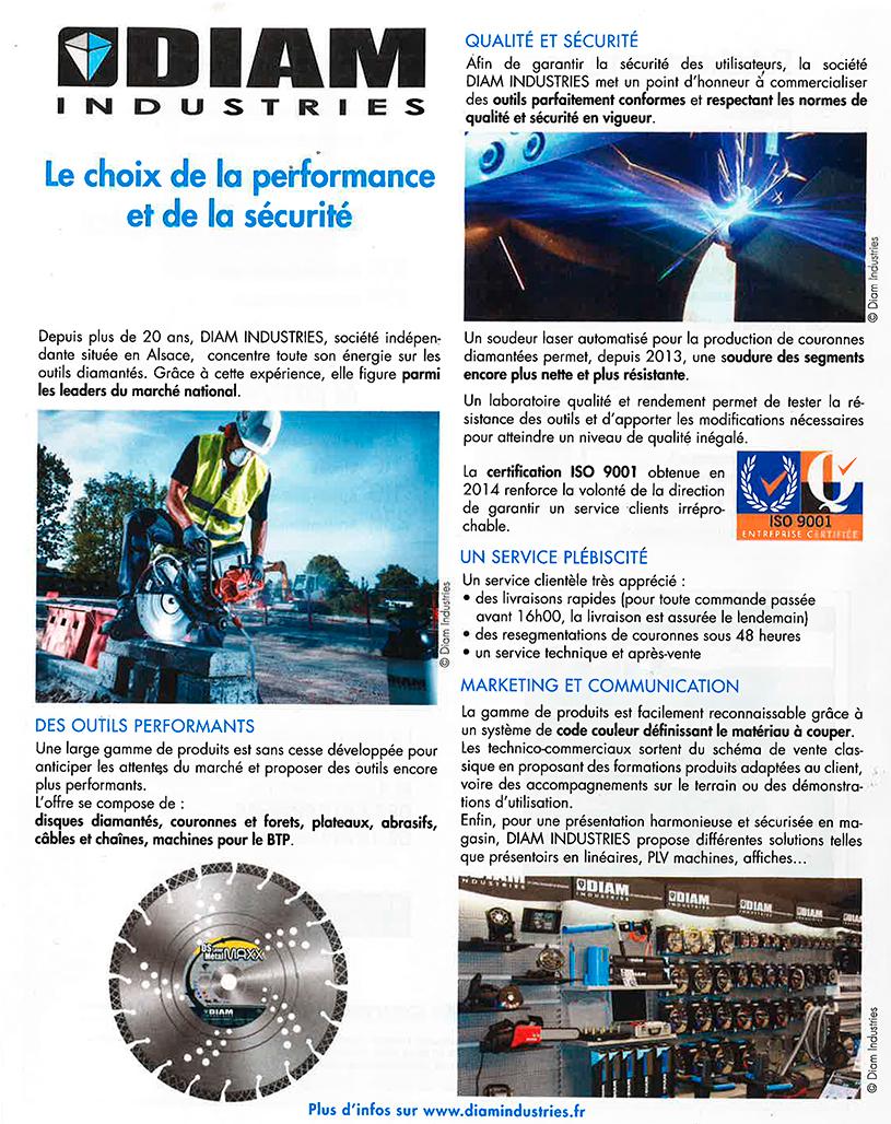 Diam Industries - performance et sécurité