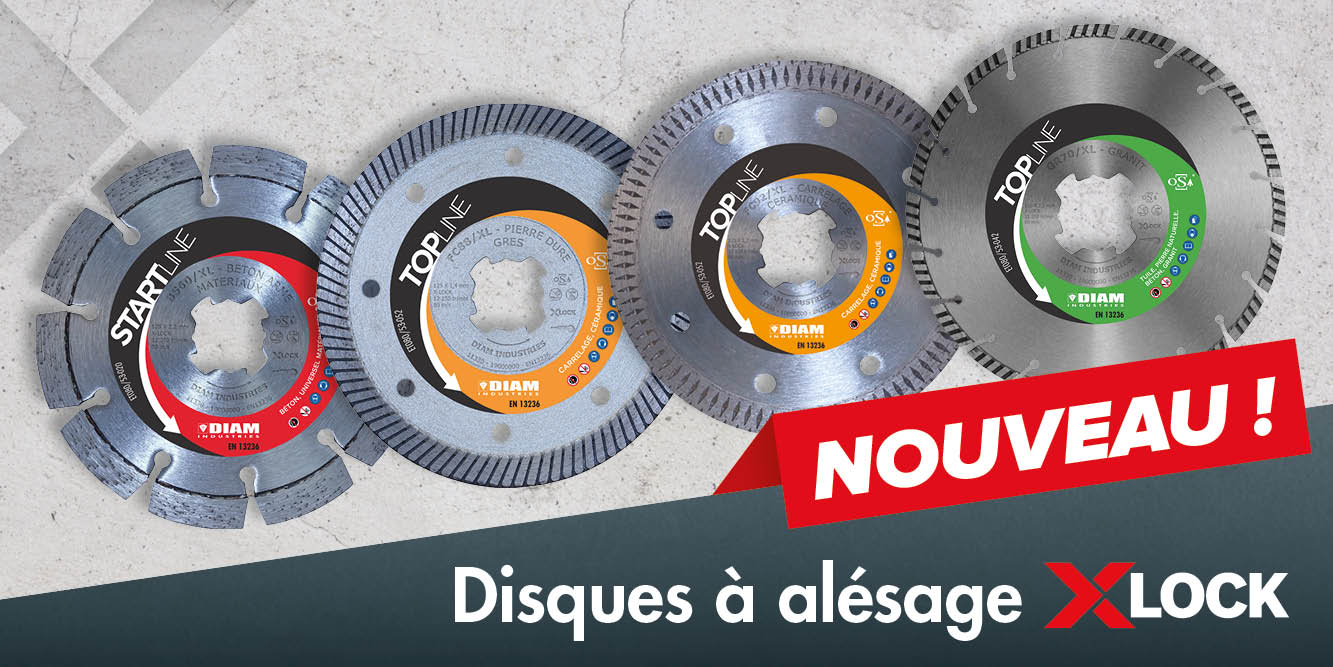 disques diamant X-LOCK Diam Industries